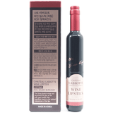 LABIOTTE - Chateau Labiotte Wine Lip Stick (Fitting) [#RD01 Malbec Burgundy] back of package
