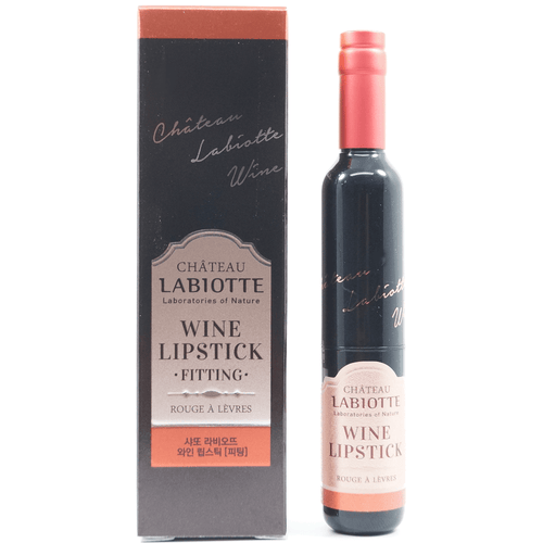 LABIOTTE - Chateau Labiotte Wine Lip Stick (Fitting) [#RD04 Sauternes Red] with package