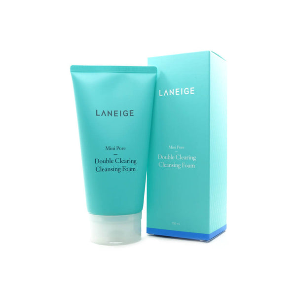 LANEIGE Mini Pore Double Clearing Cleansing Foam 150ml