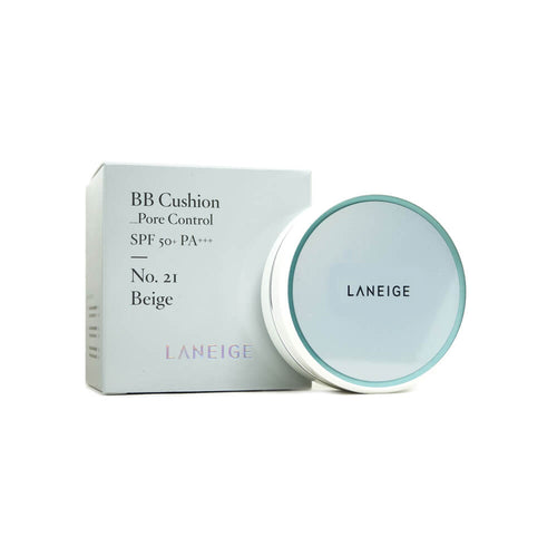 LANEIGE BB Cushion Pore Control (No.21 Beige) With Refill (15g x 2)