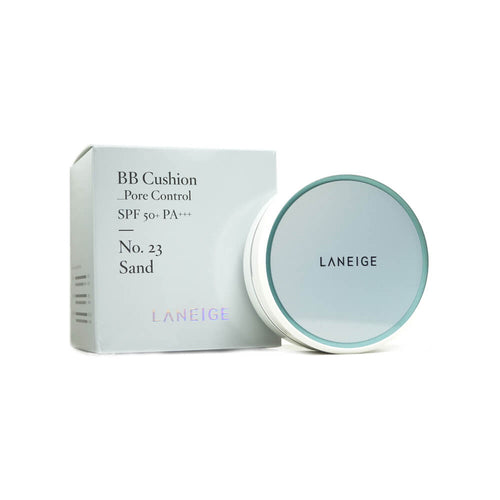 LANEIGE BB Cushion Pore Control (No.23 Sand) With Refill (15g x 2)