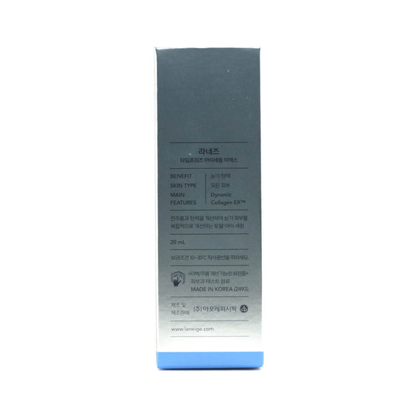 LANEIGE Time Freeze Eye Serum 20ml box info 1