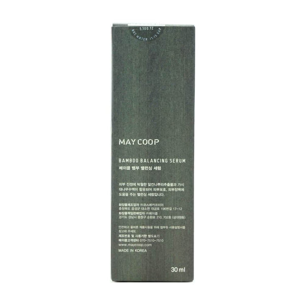 MAY COOP Bamboo Balancing Serum 30ml box 1
