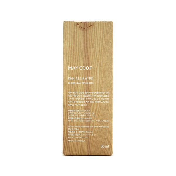 MAY COOP Raw Activator 60ml box info