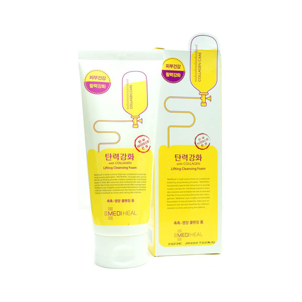MEDIHEAL With Collagen Lifting Cleansing Foam 170ml