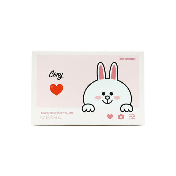 MISSHA Color Filter Shadow Palette #6 Pitapatting Cony (Line Friends Edition)