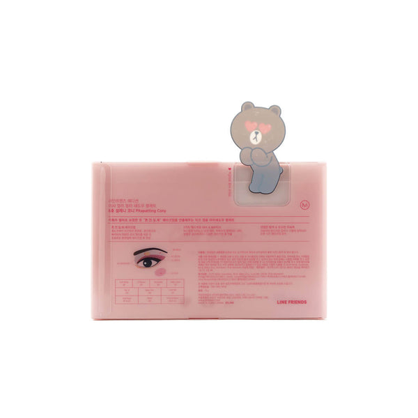 MISSHA Color Filter Shadow Palette #6 Pitapatting Cony (Line Friends Edition) box info