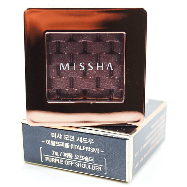 Missha - Modern Shadow Italprism (#07 Purple Off Shoulder) with package
