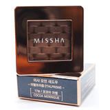 Missha - Modern Shadow Italprism (#17 Cocoa Meringue) on top of package