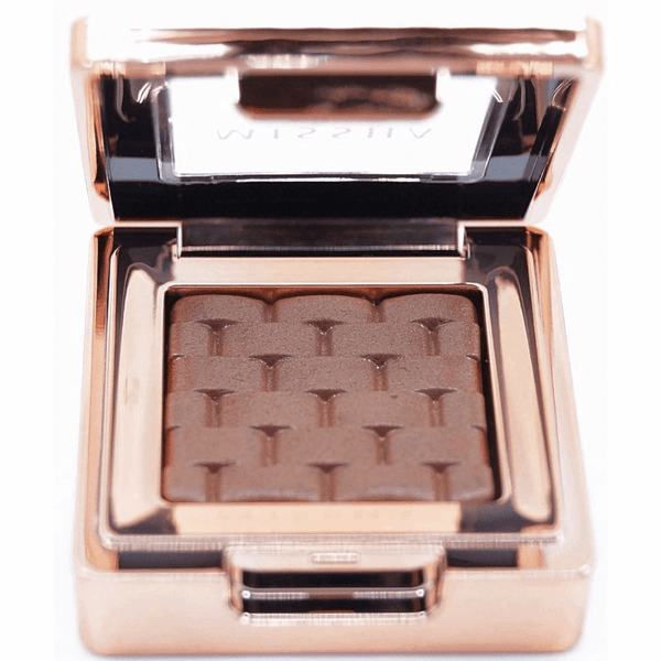 Missha - Modern Shadow Italprism (#17 Cocoa Meringue) open closeup of colour