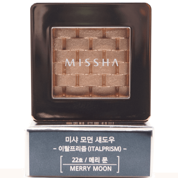 Missha - Modern Shadow Italprism (#22 Merry Moon) top of package