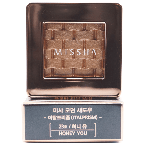 Missha - Modern Shadow Italprism (#23 Honey You) print on top of package