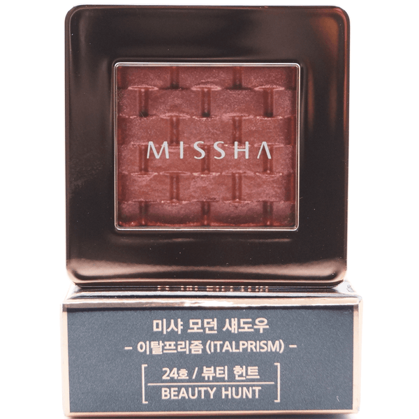 Missha - Modern Shadow Italprism (#24 Beauty Hunt) print on top of package