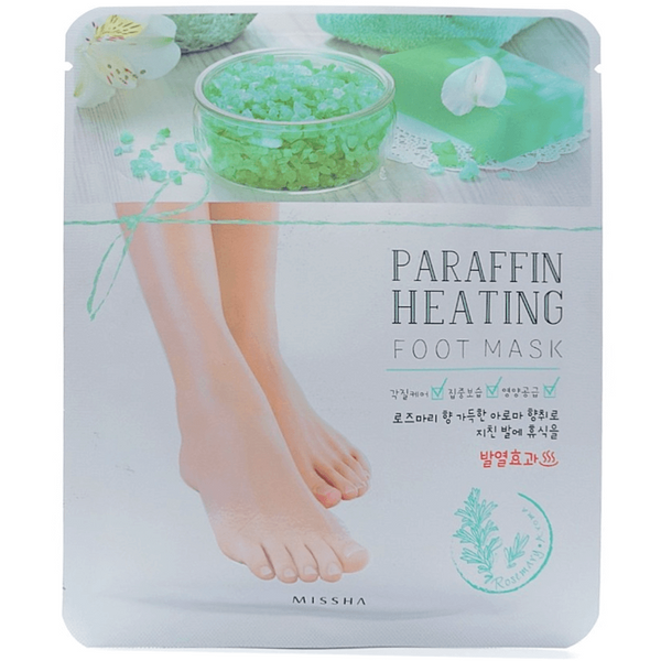 Missha - Paraffin Heating Foot Mask front of package