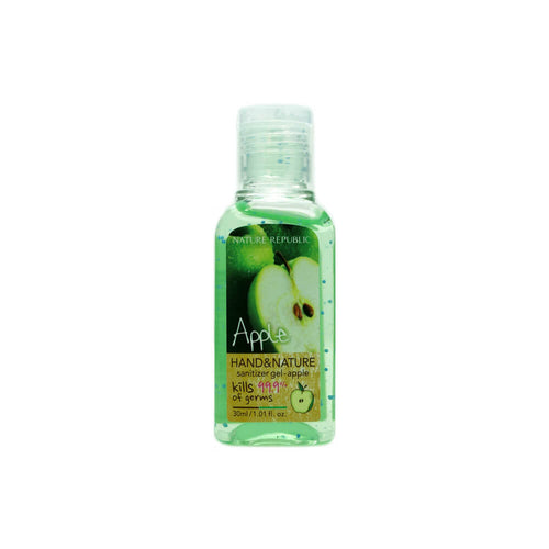 NATURE REPUBLIC Hand & Nature Sanitizer Gel - Apple 30ml