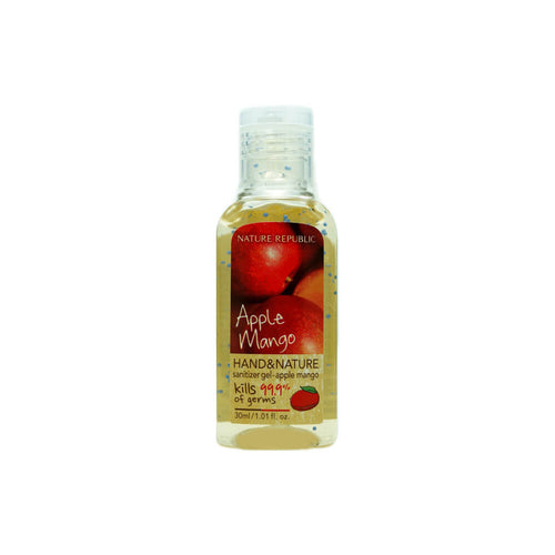 NATURE REPUBLIC Hand & Nature Sanitizer Gel - Apple Mango 30ml