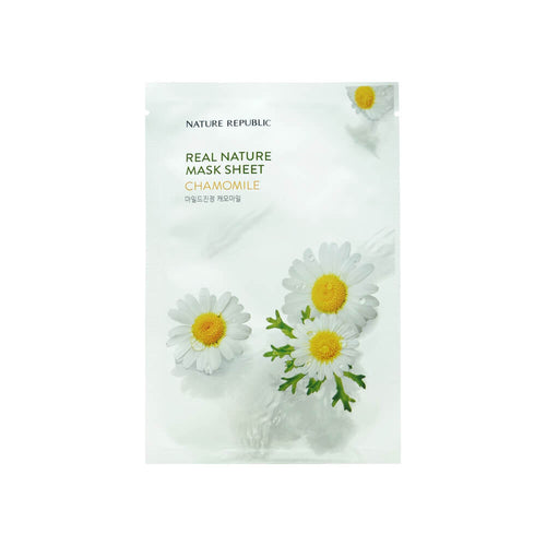 NATURE REPUBLIC Real Nature Mask Sheet Chamomile 23ml