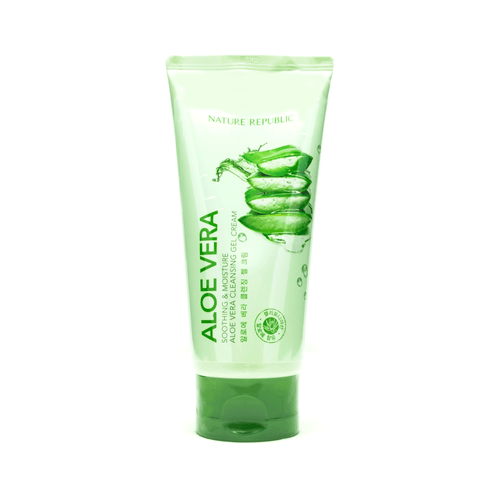 NATURE REPUBLIC Soothing & Moisture Aloe Vera Cleansing Gel Cream 150ml