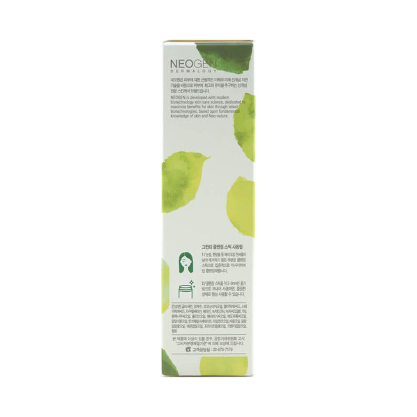 NEOGEN Real Fresh Cleansing Stick Green Tea box side 2