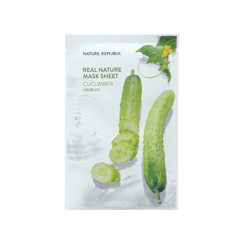 Nature Republic Real Nature Mask Sheet Cucumber 23ml