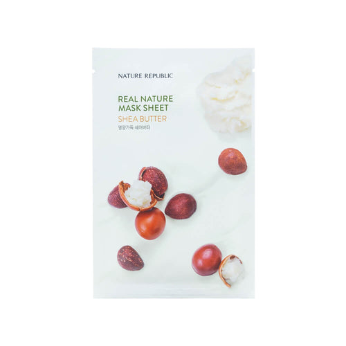 Nature Republic Real Nature Mask Sheet Shea Butter 23ml