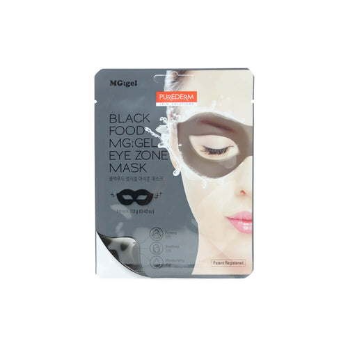 PUREDERM Black Food MG : Gel Eye Zone Mask 12g
