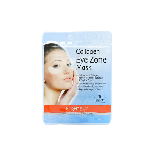 PUREDERM Collagen Eye Zone Mask 25g (30 sheets)