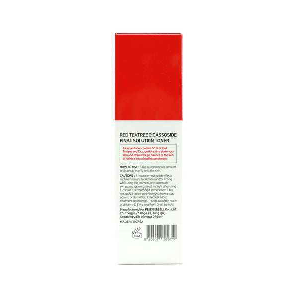 SOME BY MI Red Teatree Cicassoside Final Solution Toner 150ml box 3