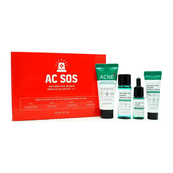 SOME BY MI - AHA, BHA, PHA 30 Days Miracle AC SOS Kit