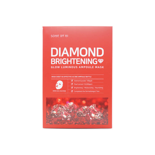 SOME BY MI Diamond Brightening Glow Luminous Ampoule Mask