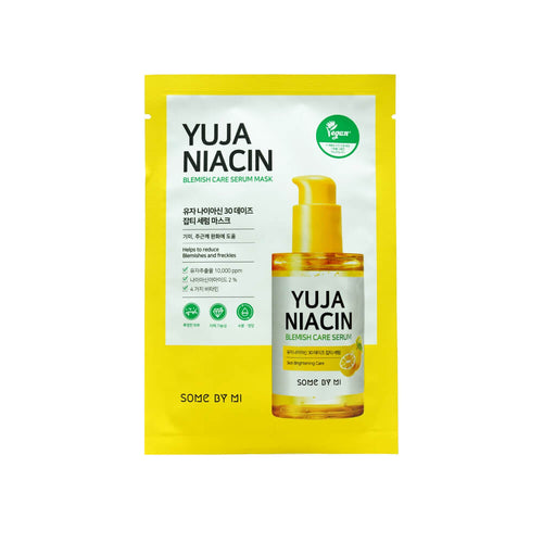 SOME BY MI Yuja Niacin 30 Days Blemish Care Serum Mask