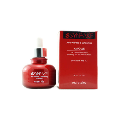 Secret Key SYN-AKE Anti Wrinkle & Whitening Ampoule 30ml