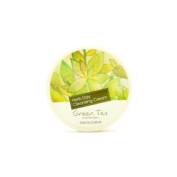 THE FACE SHOP Herb Day Cleansing Cream Green Tea 150ml