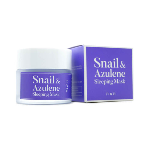 TIA'M Snail & Azulene Sleeping Mask 80ml