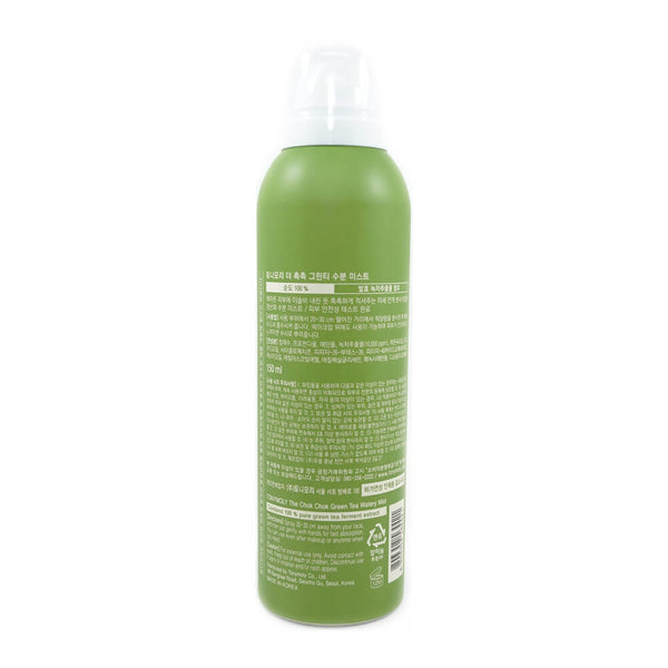 Tony Moly The Chok Chok Green Tea Watery Mist 150ml back