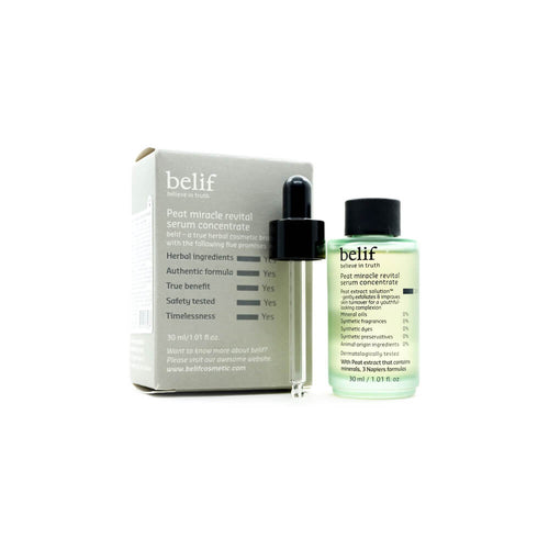 belif Peat Miracle Revital Serum Concentrate 30ml