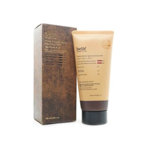 belif Prime Infusion Repair Cleansing Foam 180ml