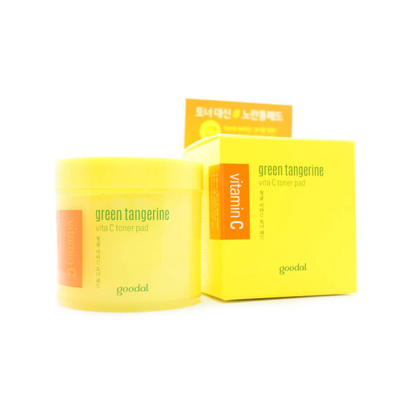 goodal Green Tangerine Vita C Toner Pad (70pcs) 140ml