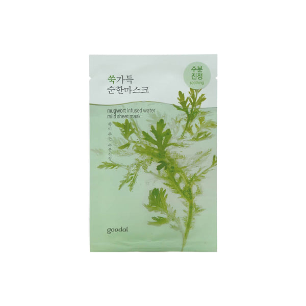 goodal Mugwort Infused Water Mild Sheet Mask 23ml