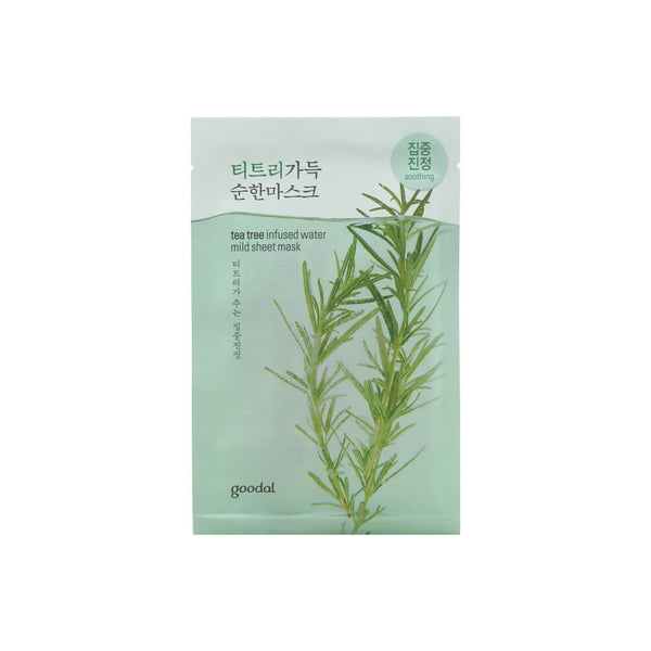 goodal Tea Tree Infused Water Mild Sheet Mask 23ml