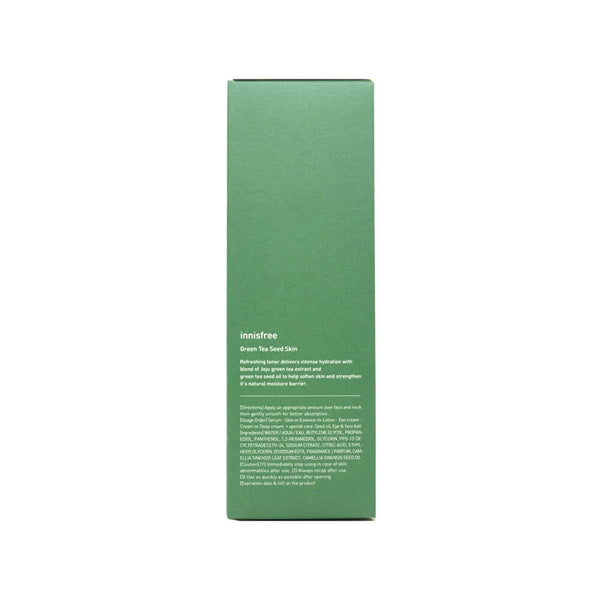 innisfree Green Tea Seed Skin 200ml box 1