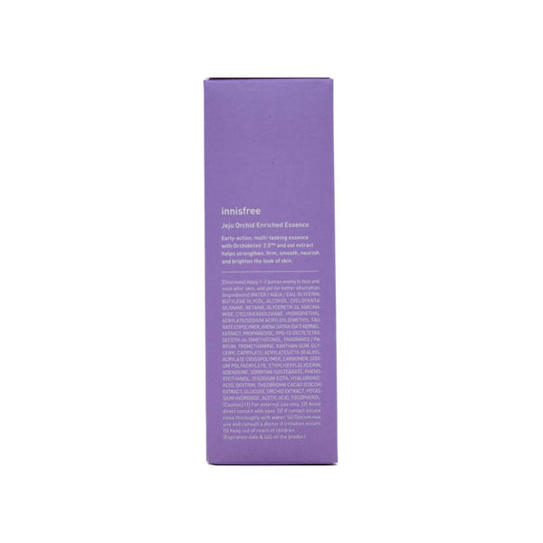 innisfree Jeju Orchid Enriched Essence 50ml box 1