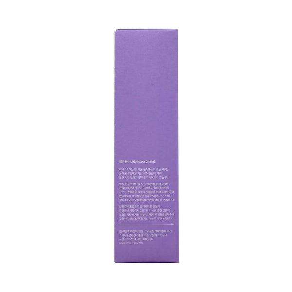 innisfree Jeju Orchid Fluid 100ml box side 3