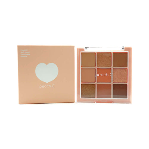 peach C Soft Mood Eyeshadow Palette (Soft Coral)