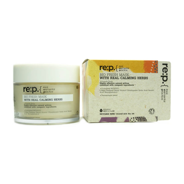 re:p. Bio Fresh Mask With Real Calming Herbs 130g