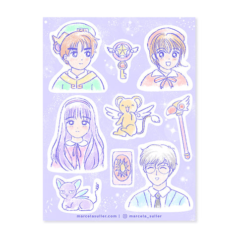 Cardcaptor Sakura Sticker Set