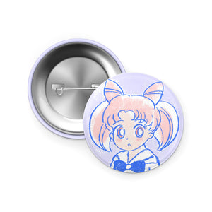 Chibi Moon pin