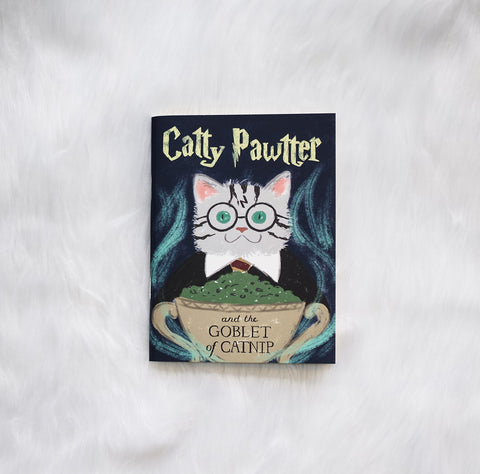 Catty Pawtter notebook