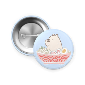 Ice Bear Ramen pin