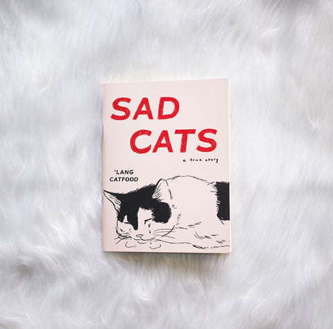 Sad Cats notebook